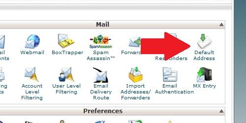 Default Address Icon
