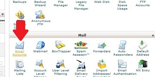 Access Email Accounts
