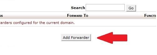 Click on Add Forwarder